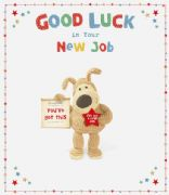 Boofle Large New Job Greeting Card